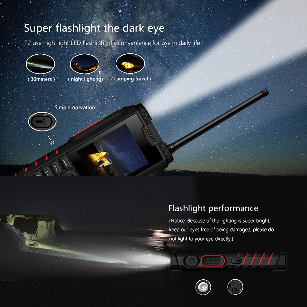 Best Ioutdoor T2 Feature Mobile Phone Ip68 Waterproof 2