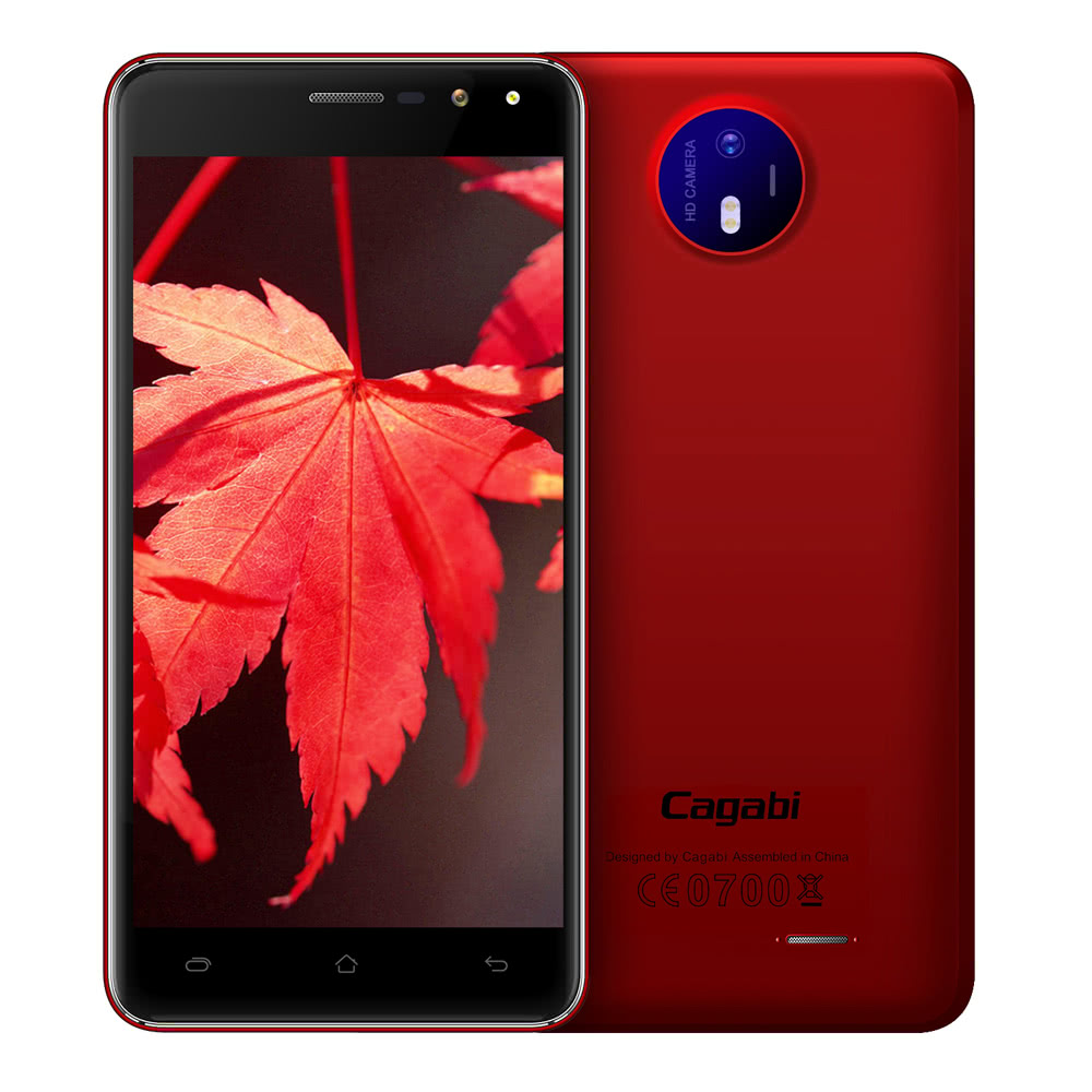 cagabi one smartphone 3g smartphone 5 0 inches 1gb ram 8gb rom us sales online red eu. Black Bedroom Furniture Sets. Home Design Ideas