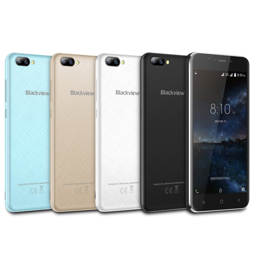 Blackview A7 3G Smartphone 5 0 inches 1GB RAM 8GB ROM