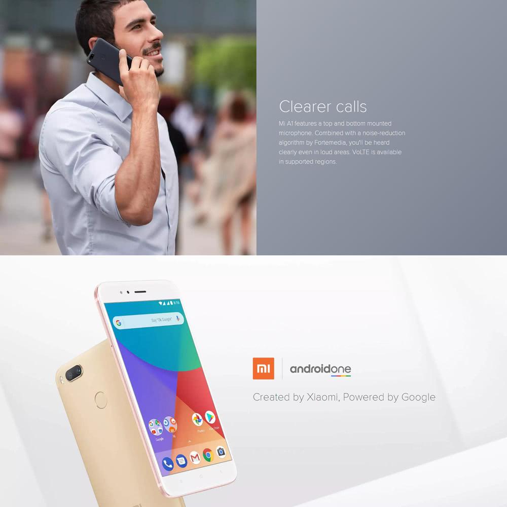 [Global Version] Xiaomi Mi A1 4G Smartphone 5 5 inches 4GB RAM + 64GB ROM