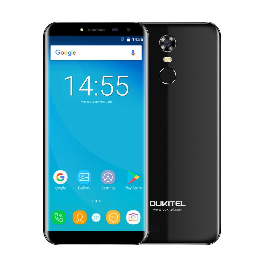 oukitel c8 smartphone 3g wcdmaphone hd display 1280 640pixel 2 go de ram 16 go de rom. Black Bedroom Furniture Sets. Home Design Ideas