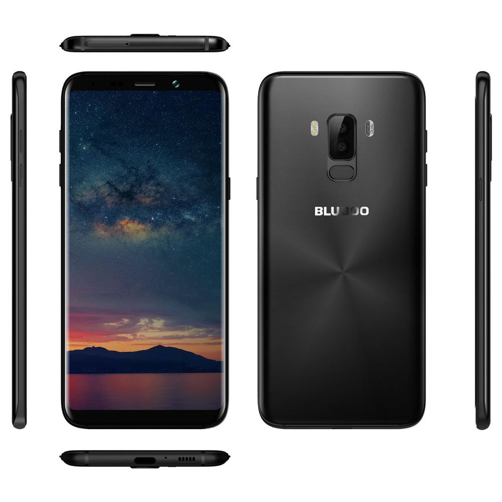 bluboo s8 plus 4g smartphone 6 inches bezel less 18 9 hd 4gb ram 64gb rom sales online black eu. Black Bedroom Furniture Sets. Home Design Ideas