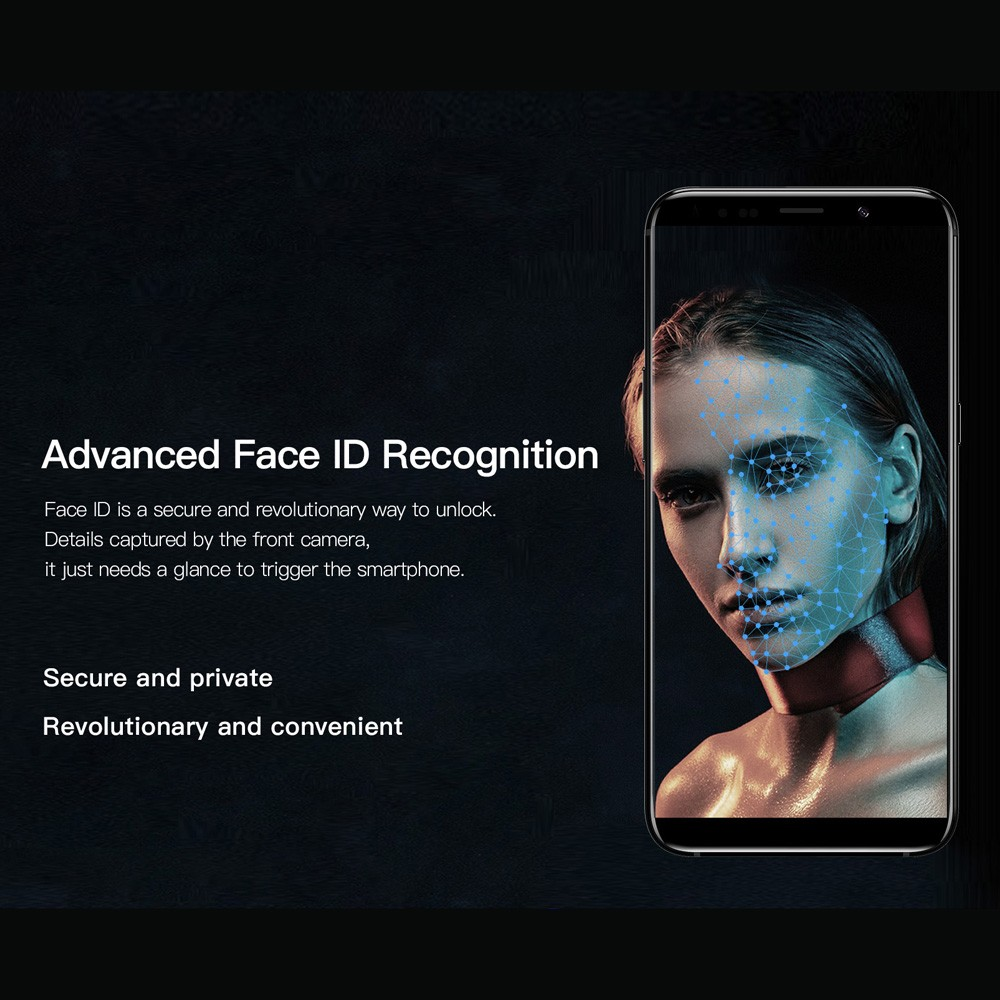 Uhans I8 Face Recognition 5 7 Inches 18 9 Full Screen