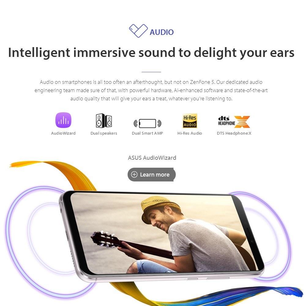 【Global Version】ASUS Zenfone 5 ZE620KL 4G Smartphone Notch 6 2 Inches  4GB+64GB - US$414 99 Sales Online blue eu - Tomtop