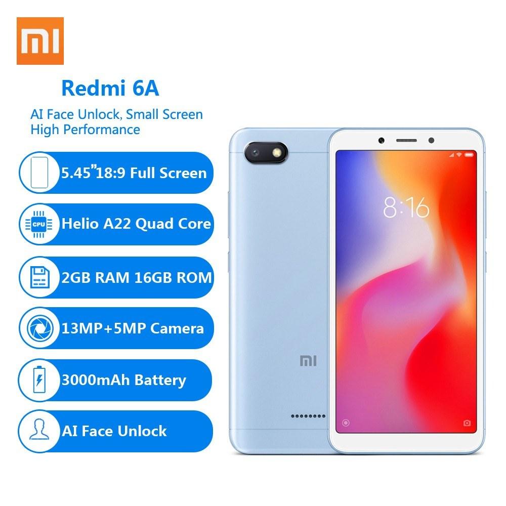 Xiaomi Redmi 6A 4G Cellphone 5 45 Inch