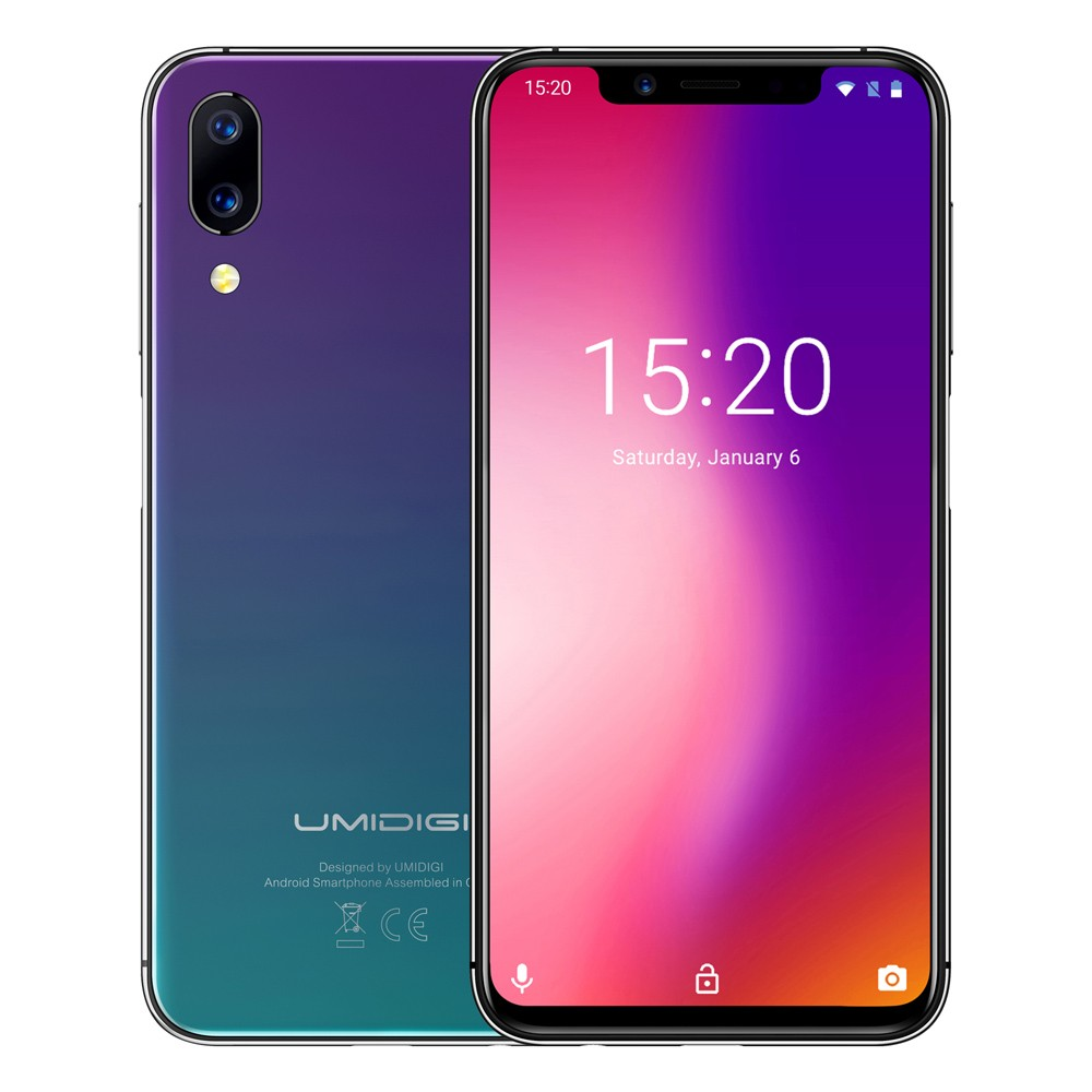 UMIDIGI One 4GB RAM 32GB ROM Global Bands