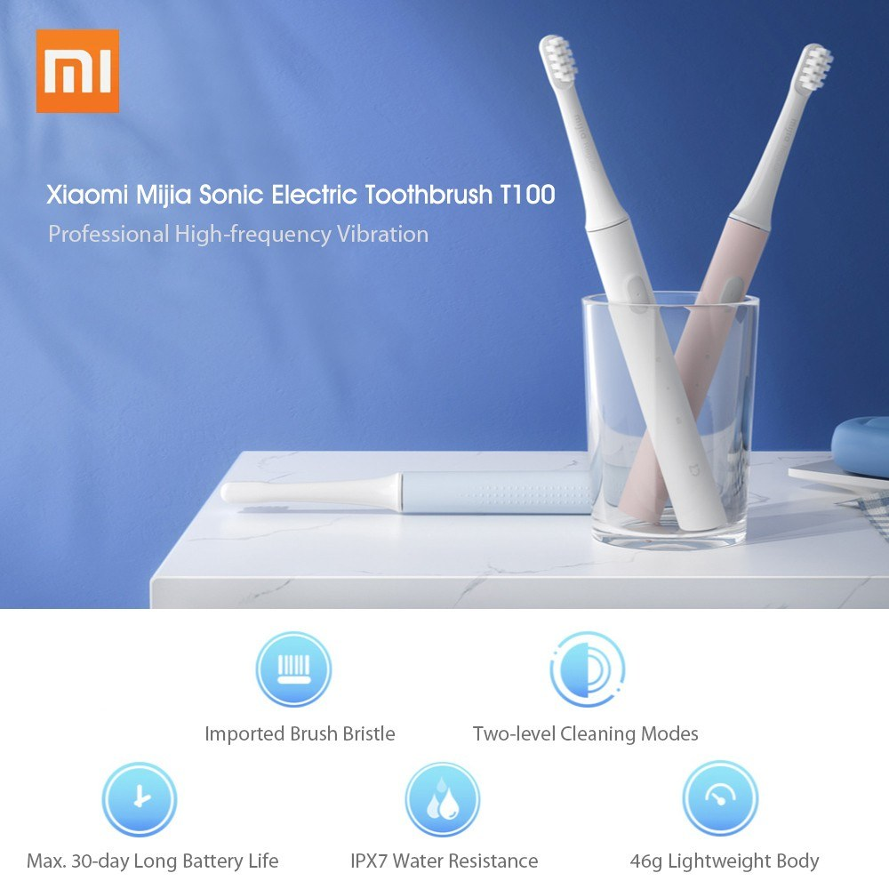 Xiaomi Mijia T100 Sonic Electric Toothbrush