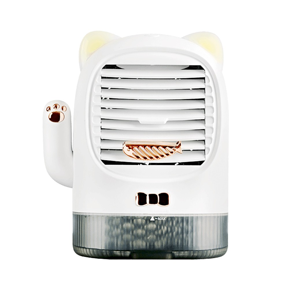 Cafago - 59% OFF Fun Home Lucky Cat Desktop Fan Multifunctional Electric Fan SY-012,free shipping+$38.45