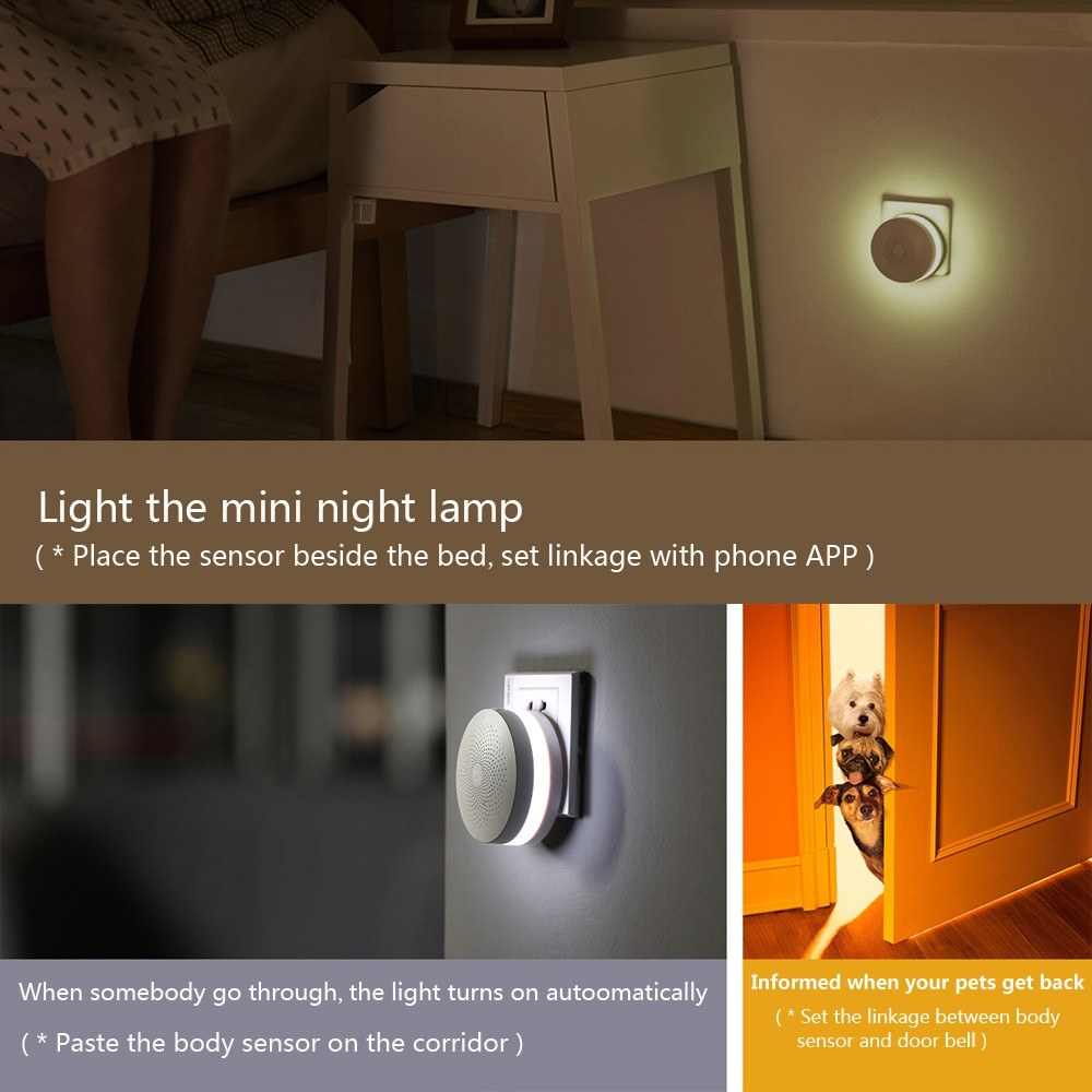 Xiaomi Mijia Human Body Sensor Magnetic Smart Home Device
