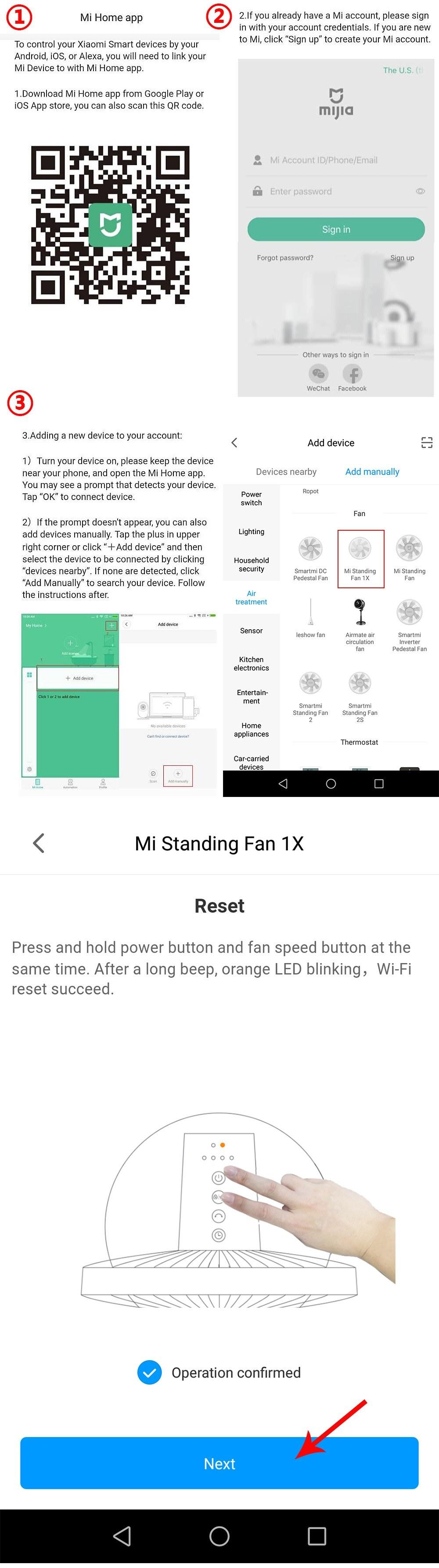Best Xiaomi Mijia DC Standing 01 Sale Online Shopping   Cafago com