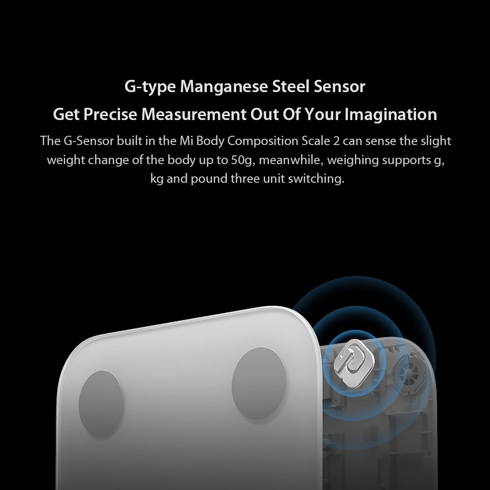 Best New Xiaomi Mi Body Composition Scale 2 Smart Fat Weight Health white  Sale Online Shopping | Cafago com