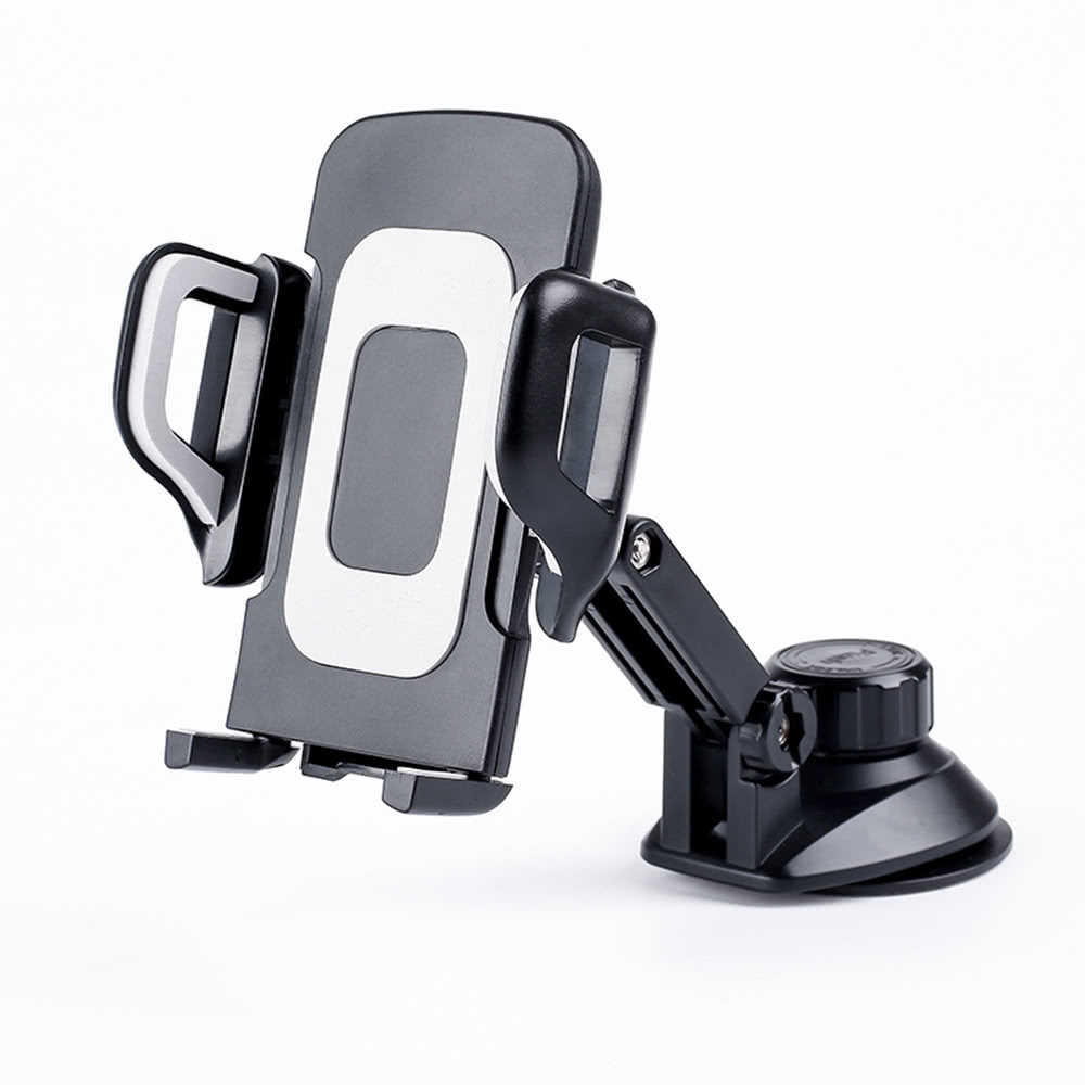 Best Universal 360°Rotation Automatic Locked Car Mobile Phone gray ...