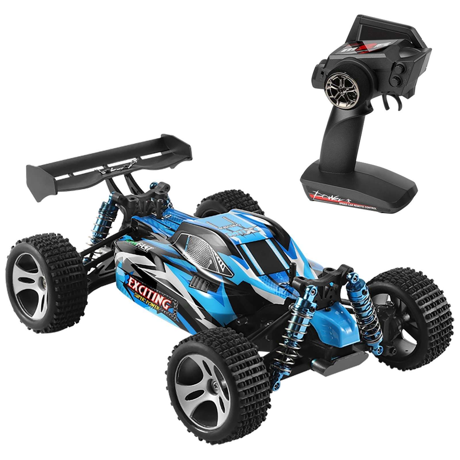 tomtop.com - 60% OFF WLtoys XKS 184011 1/18 2.4GHz 4WD RC Car Off-Road 30km/h Car High Speed RC Crawler, $54.99 (Inclusive of VAT)