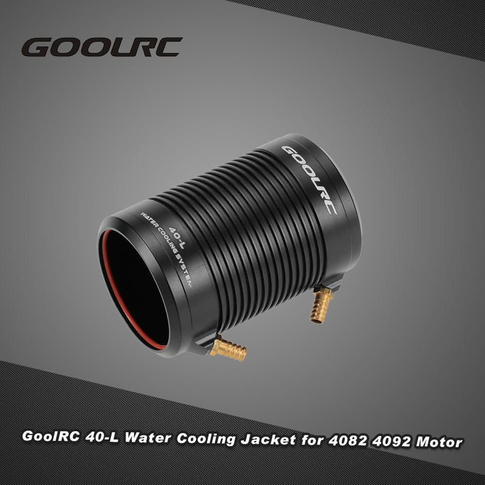 Original goolrc aluminum 40 l water cooling jacket cover for Brushless motors for sale