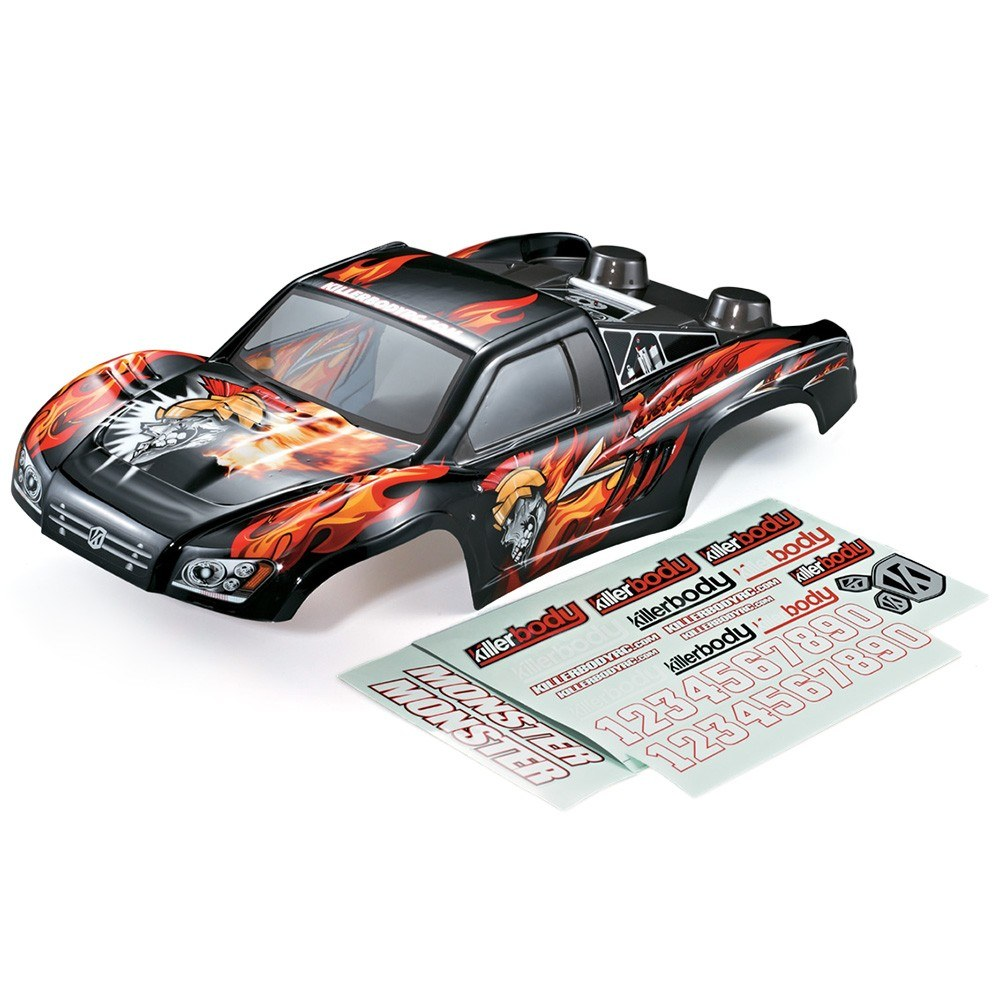 1 10 Rc Car Thunder Drift Body Shell For Sale In Jamaica: KillerBody 48035 327mm Short Course Truck Finished Body
