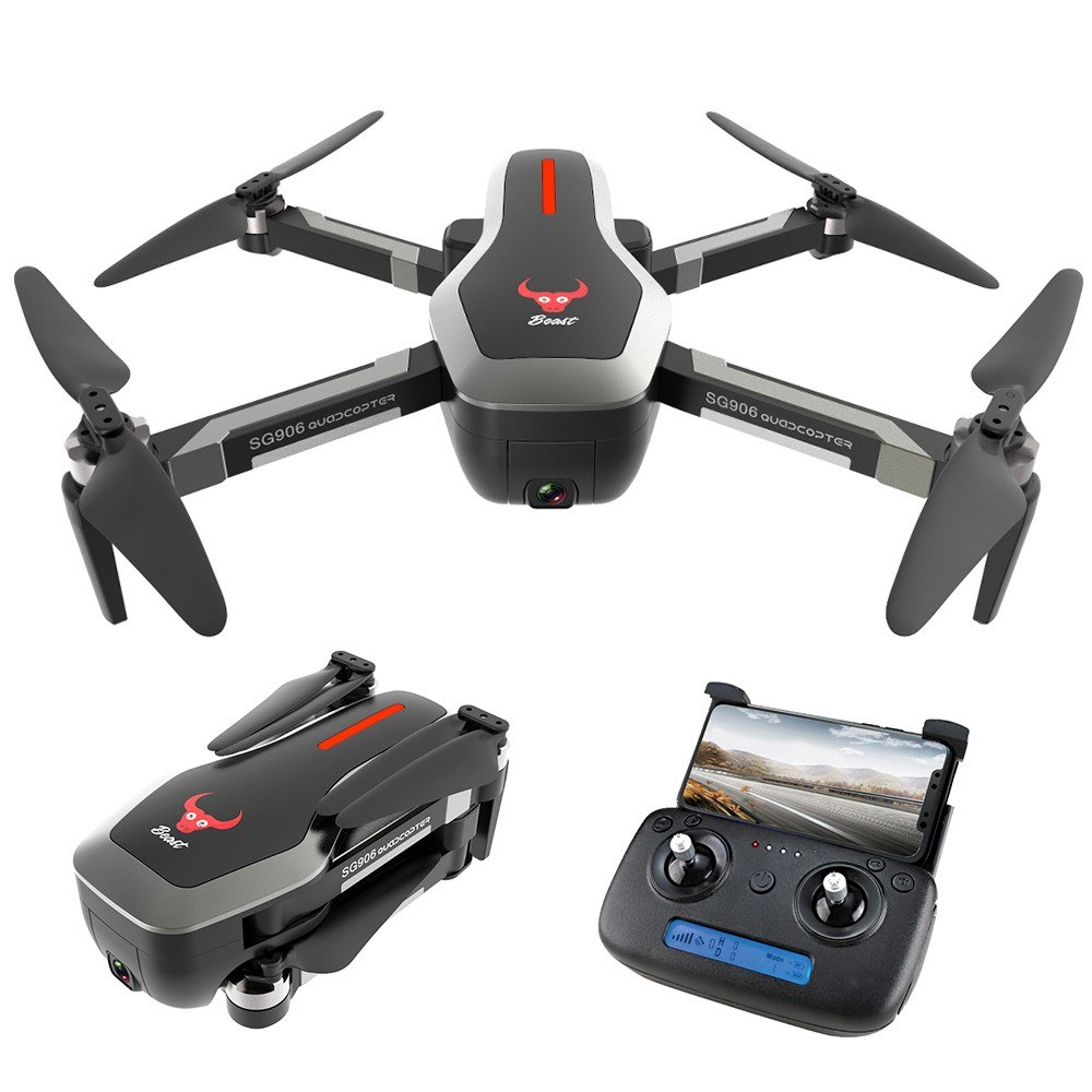 tomtop.com - 53% OFF ZLRC Beast SG906 5G Wifi GPS FPV Drone with 4K Camera, Limited Offers $139.99