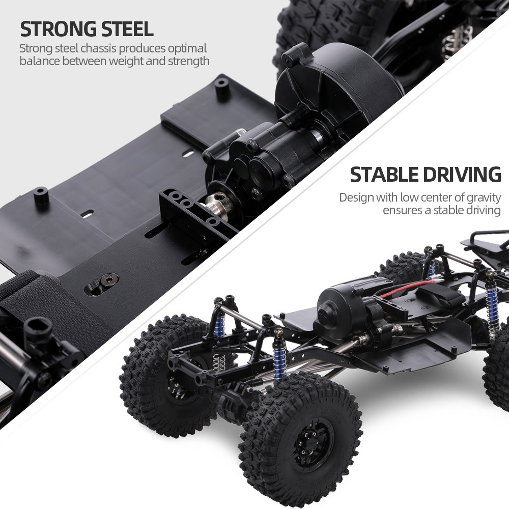 AUSTAR 313mm Wheelbase Chassis Frame w/ Tries for Sale - US$137 63 01# |  Tomtop