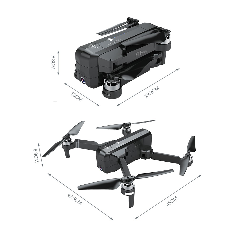 SJ RC F11 PRO 5G Wifi FPV GPS Brushless RC Drone with 2K Camera for Sale -  US$169 99 black1 1 | Tomtop