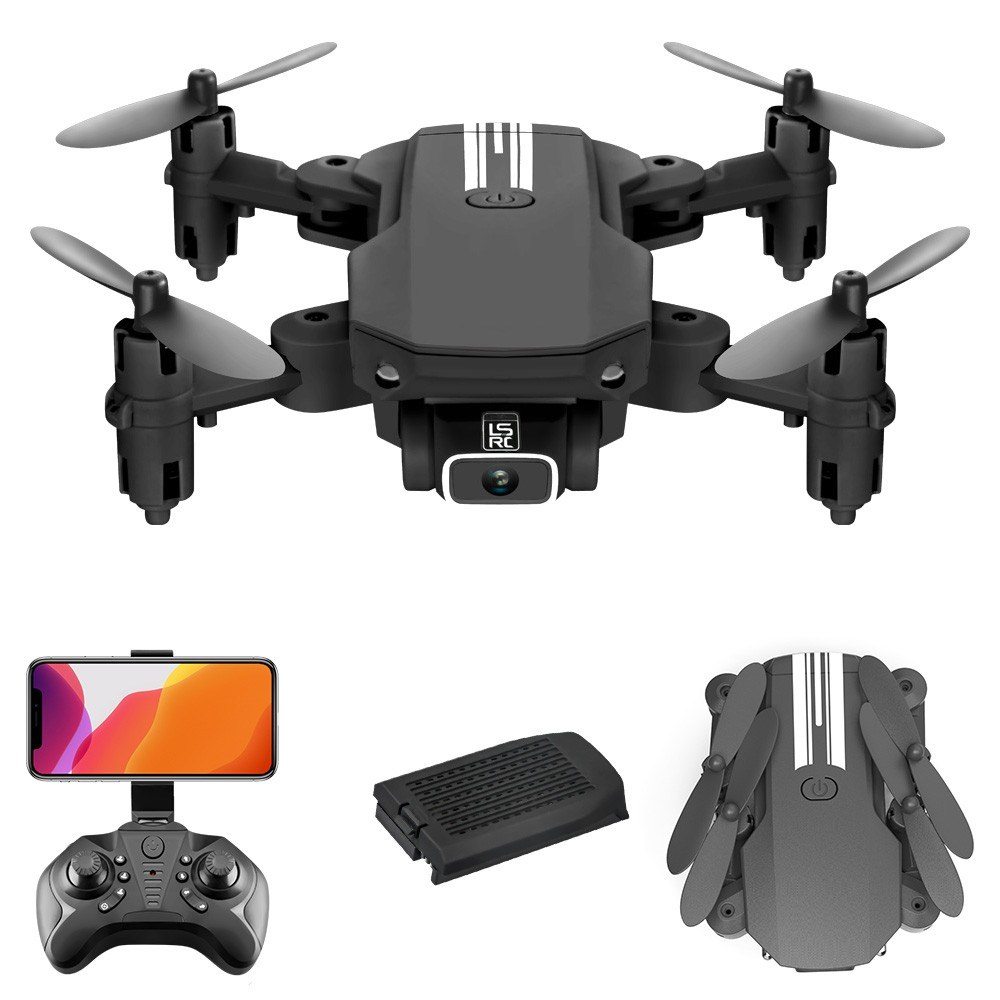 Cafago - 58% OFF LS-MIN Mini Drone RC Quadcopter 13mins Flight Time 360¡ã Flip 6-Axis Gyro,free shipping+$32.14