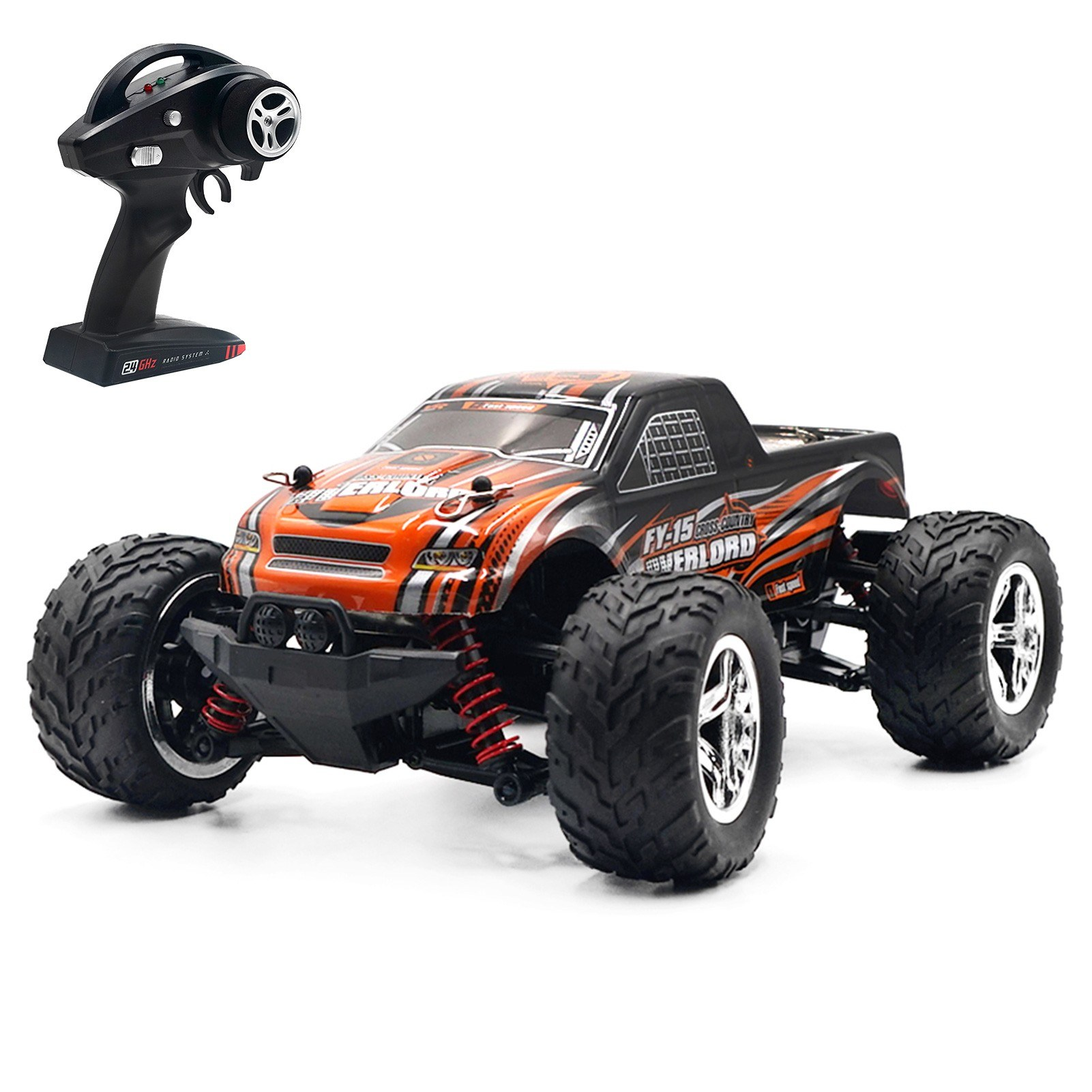 tomtop.com - 53% OFF JJRC Q121 2.4Ghz 20KM/H 1:20 Off Road RC Trucks, Limited Offers $63.99