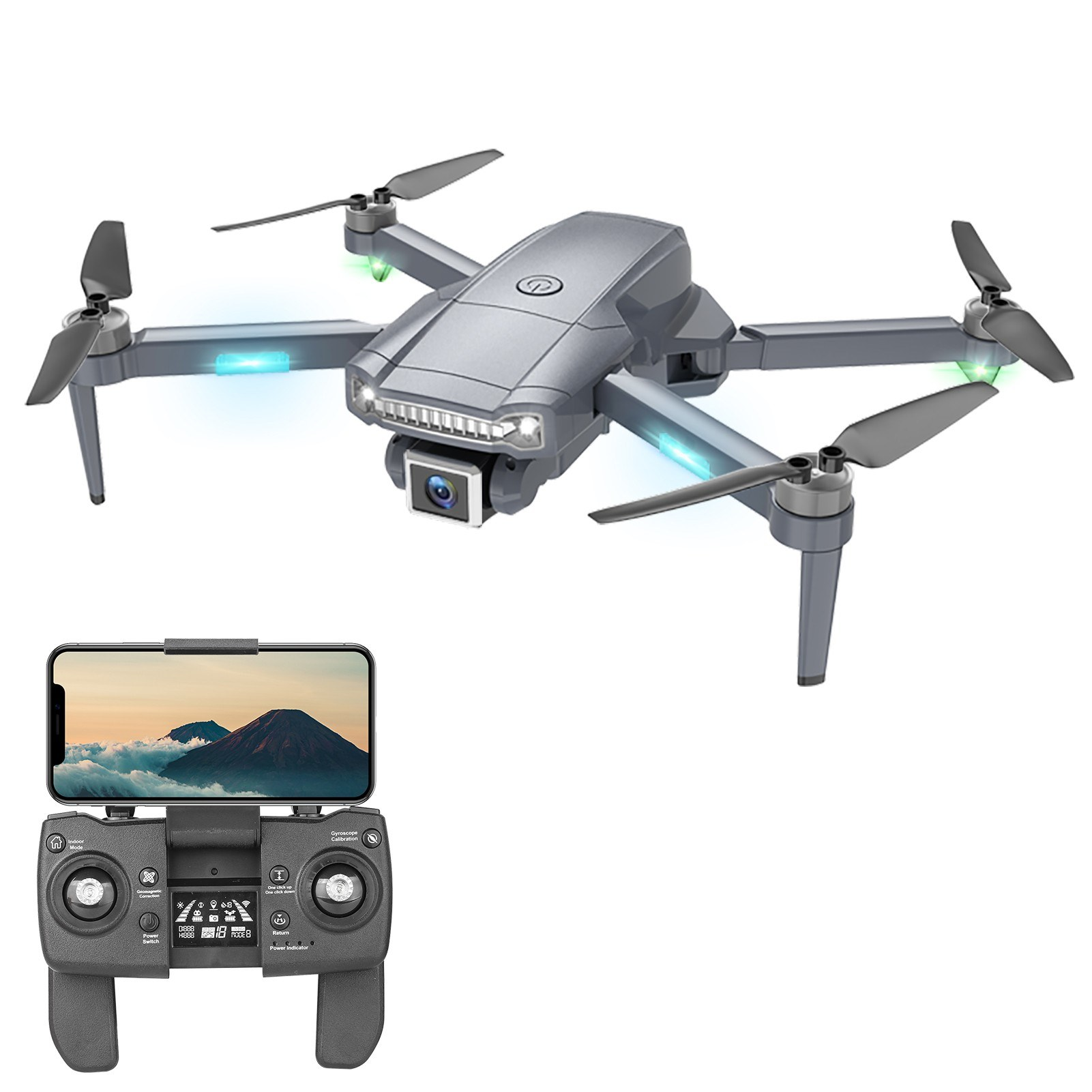 Tomtop - 55% OFF S179 5G WiFi FPV GPS 4K Camera RC Drone, Free Shipping $99.99