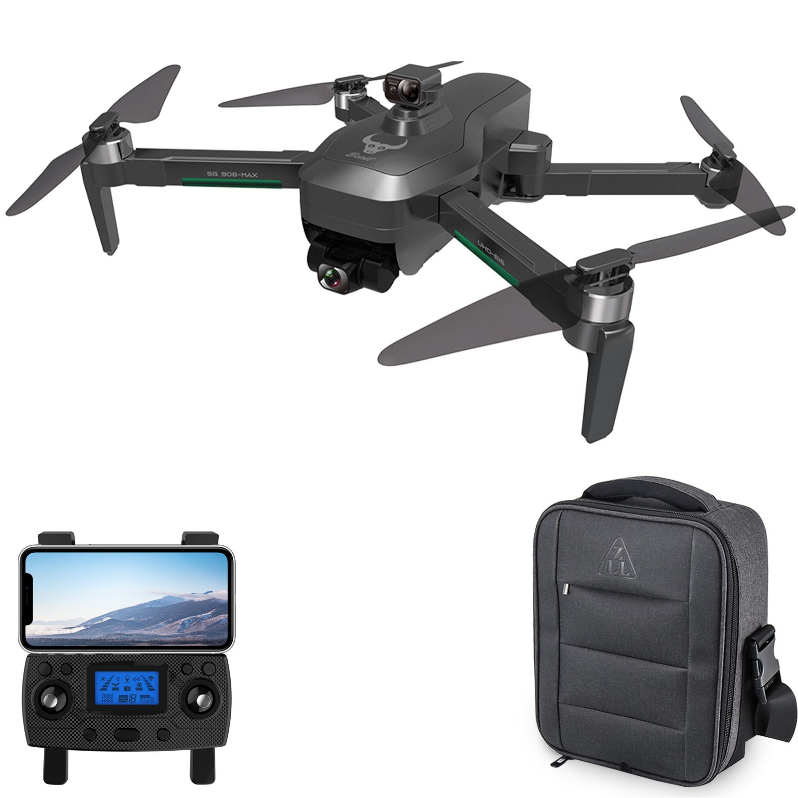 tomtop.com - 55% OFF ZLRC Beast3 SG906 MAX 5G Wifi FPV GPS RC Drone 4K Camera, Limited Offers $191.99