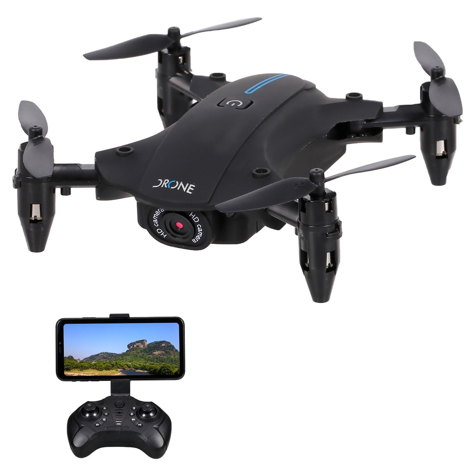 cafago.com - 52% OFF H2 Wifi FPV 4K Camera RC Drone Mini Folding Quadcopter,free shipping+$30.49
