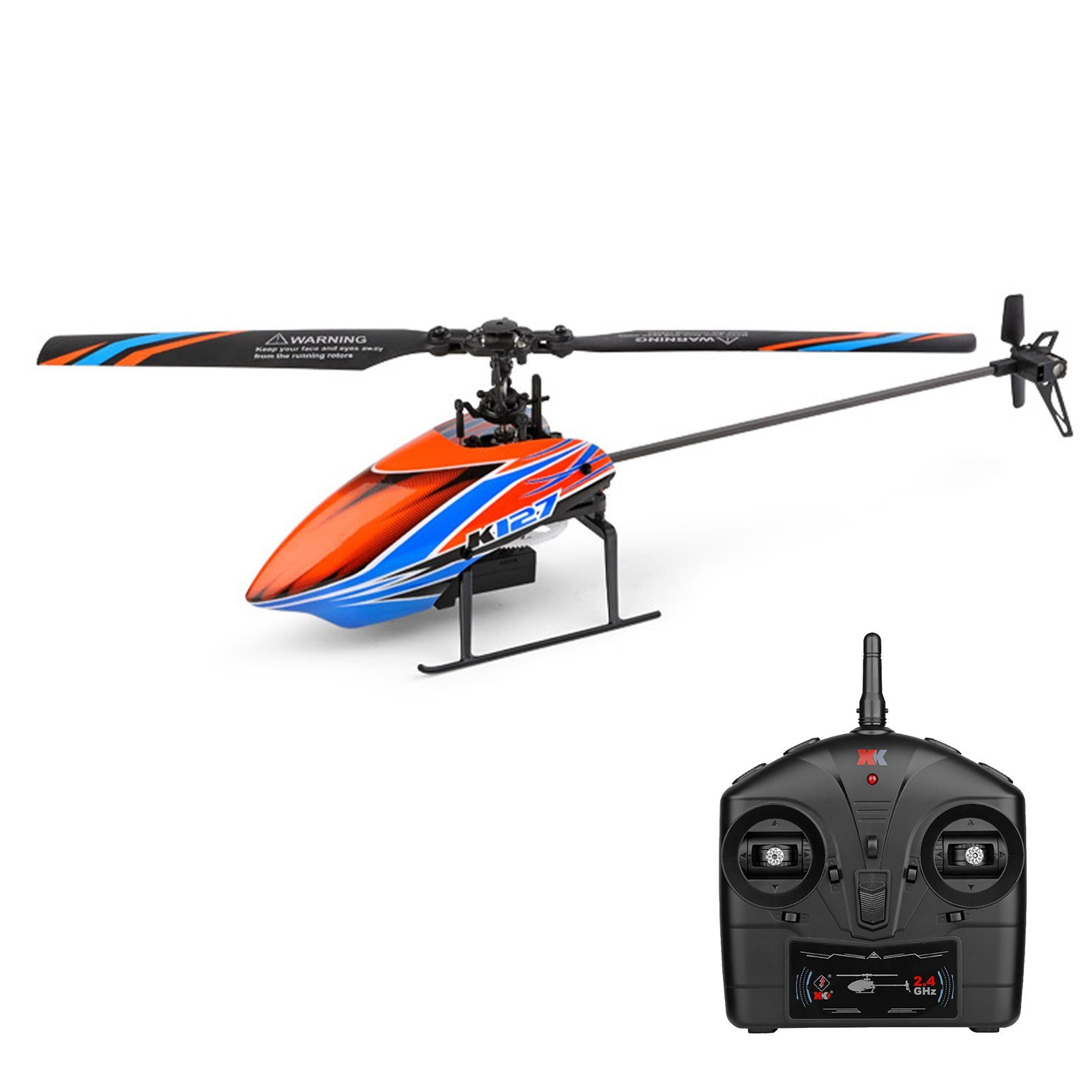 Tomtop - 53% OFF WLtoys K127 2.4G 4CH RC Helicopter 6-axis Gyro Single Blade, Free Shipping $61.99