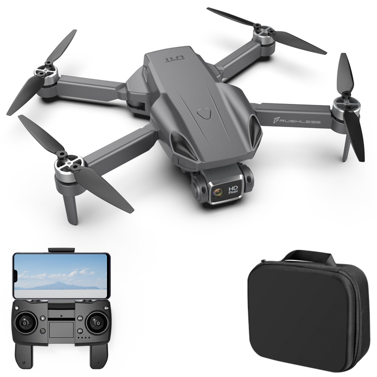 tomtop.com - 31% OFF H9 MAX 5G Wifi GPS FPV 4K Camera RC Drone, Free Shipping $96.99