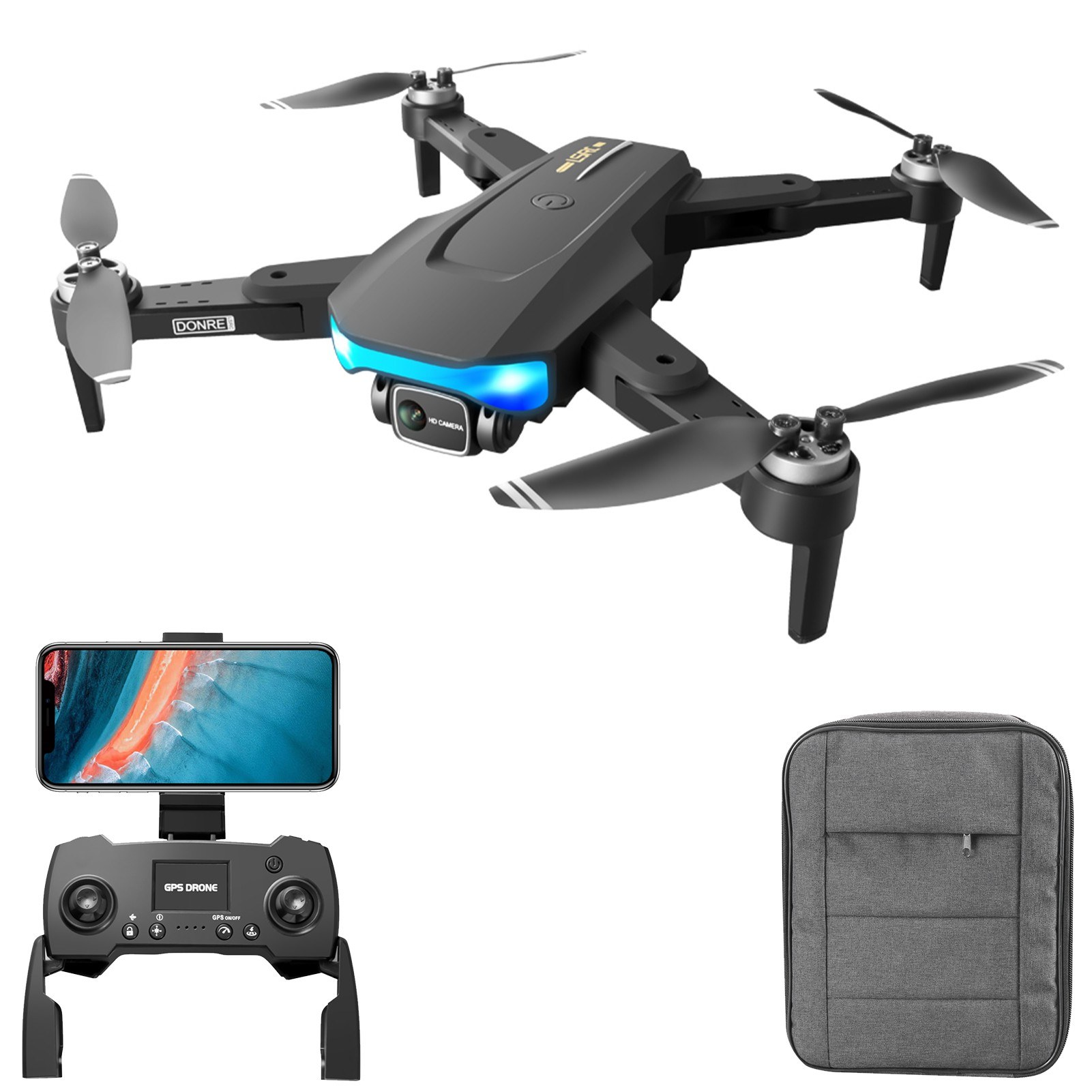 Tomtop - 55% OFF LS-38 5G Wifi GPS FPV 6K Camera RC Drone, Free Shipping $99.99