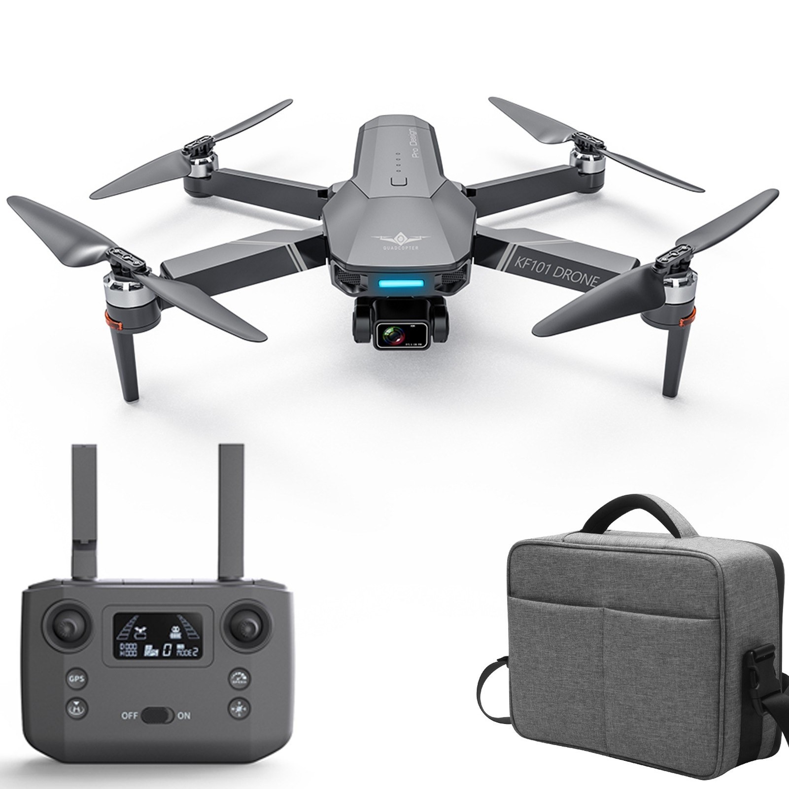 Tomtop - 50% OFF KF101 5G Wifi GPS FPV 4K Camera RC Drone, $189.99 (Inclusive of VAT)