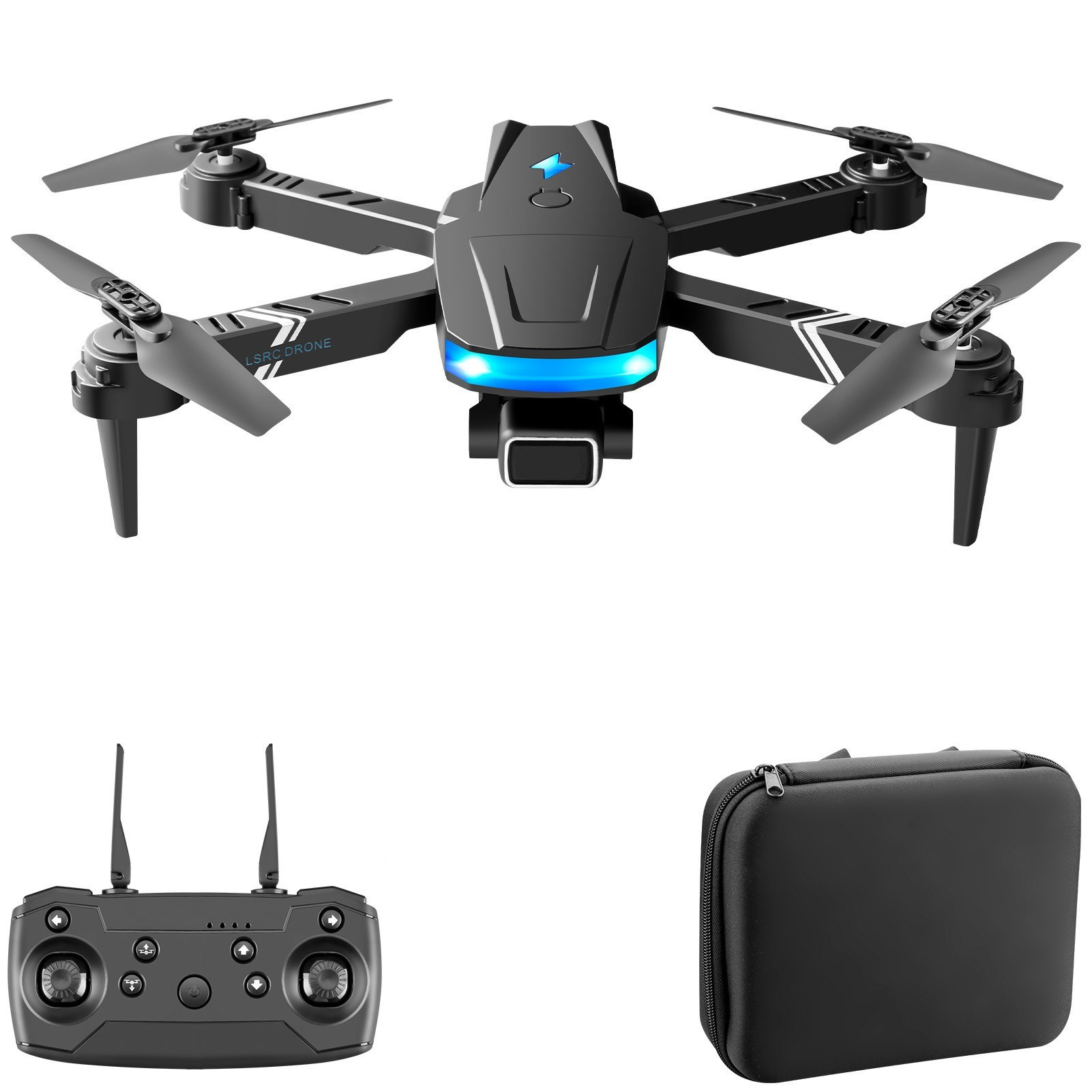 Cafago - 56% OFF LS-878 Mini Folding Altitude Hold Quadcopter RC Toy Drone,free shipping+$30.49