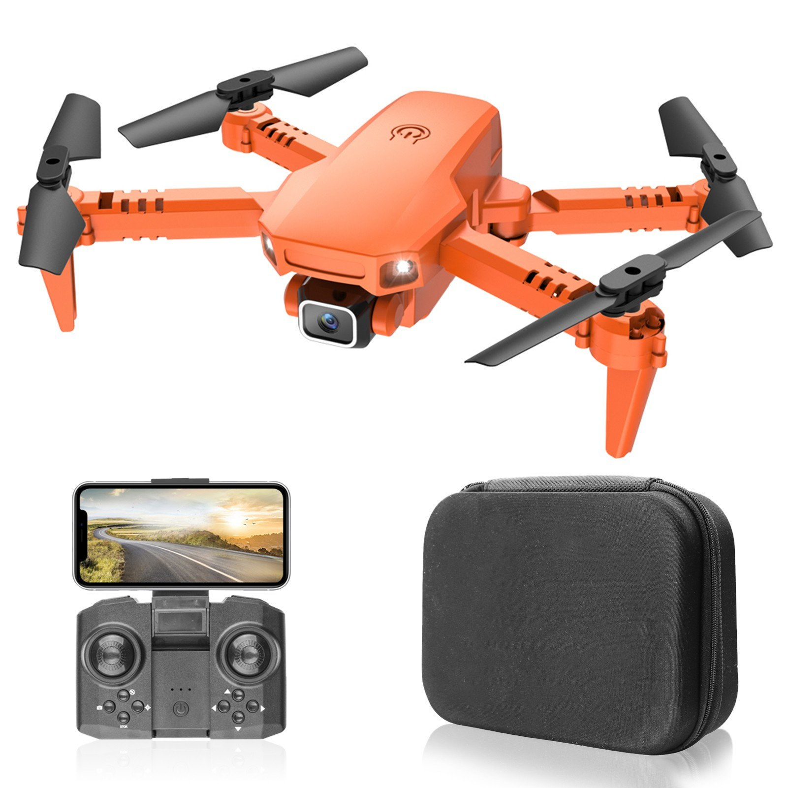 Tomtop - 45% OFF X1 WiFi FPV 4K Camera Mini Foldable Quadcopter, Free Shipping $31.99