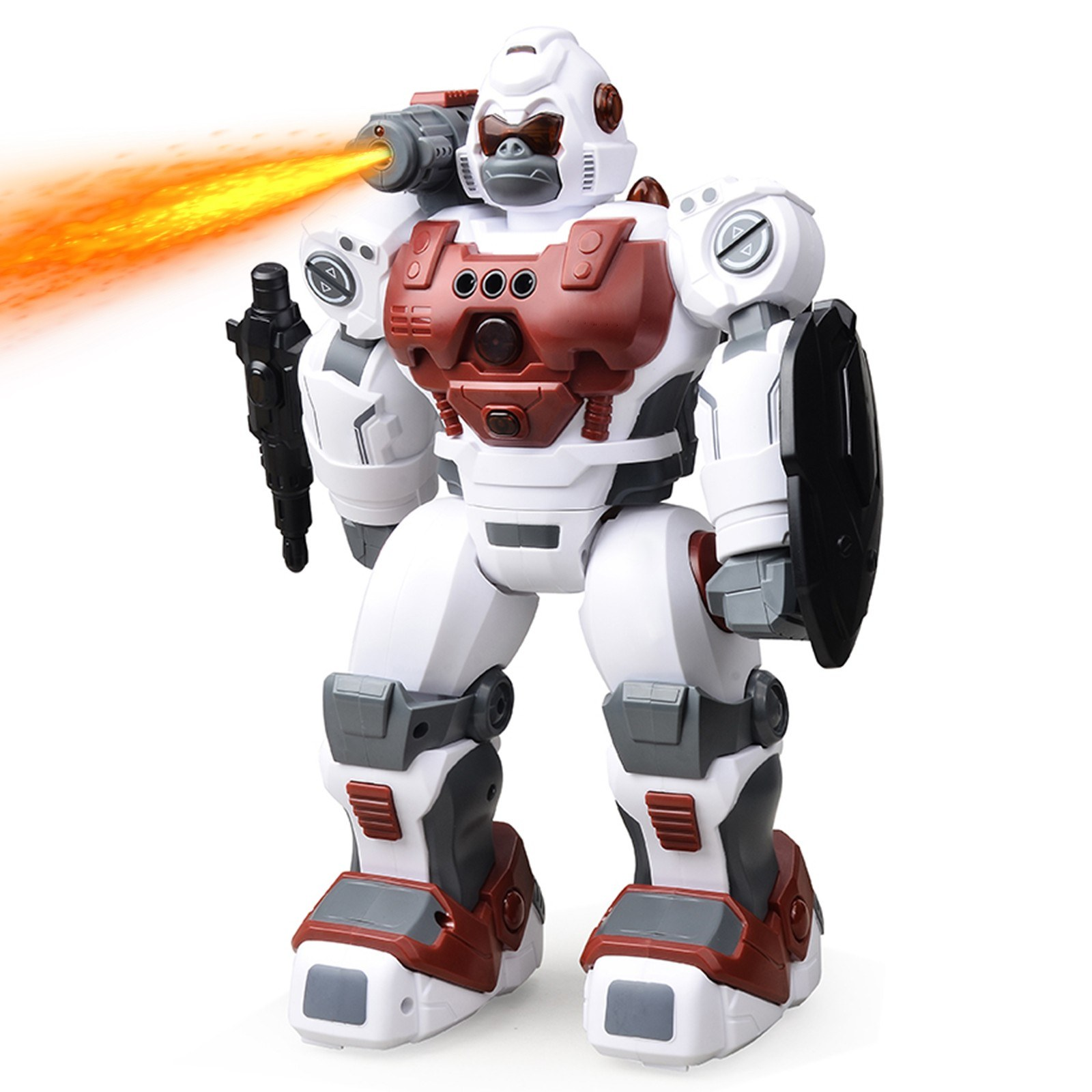 tomtop.com - 63% OFF RC Robot Spray Police Robot with Gesture Sensing Automatic Demonstration, $41.99 (Inclusive of VAT)