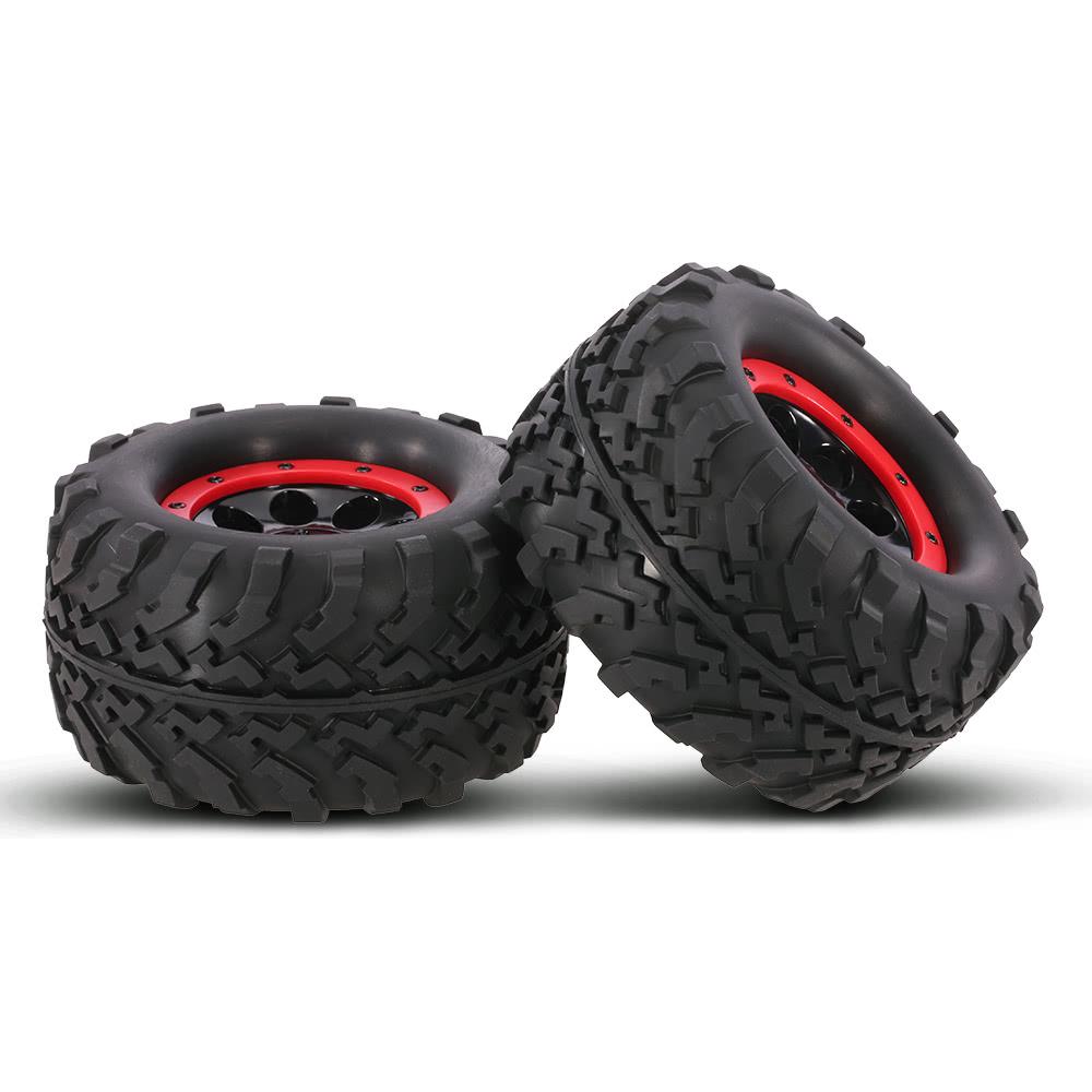 Best 2Pcs AUSTAR AX-3011 155mm 1/8 Monster Truck Tires with Beadlock Sale  Online Shopping #1 | Cafago com