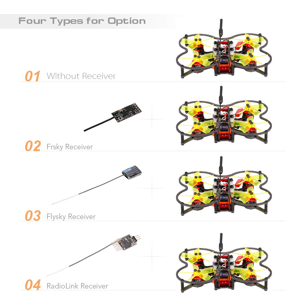 Goolrc G80 Pro 80mm 58g 48ch Micro Fpv Racing Drone Brushless Motor North Star Capacitor Wiring Diagram Quadcopter F3 Flight Controller Arf