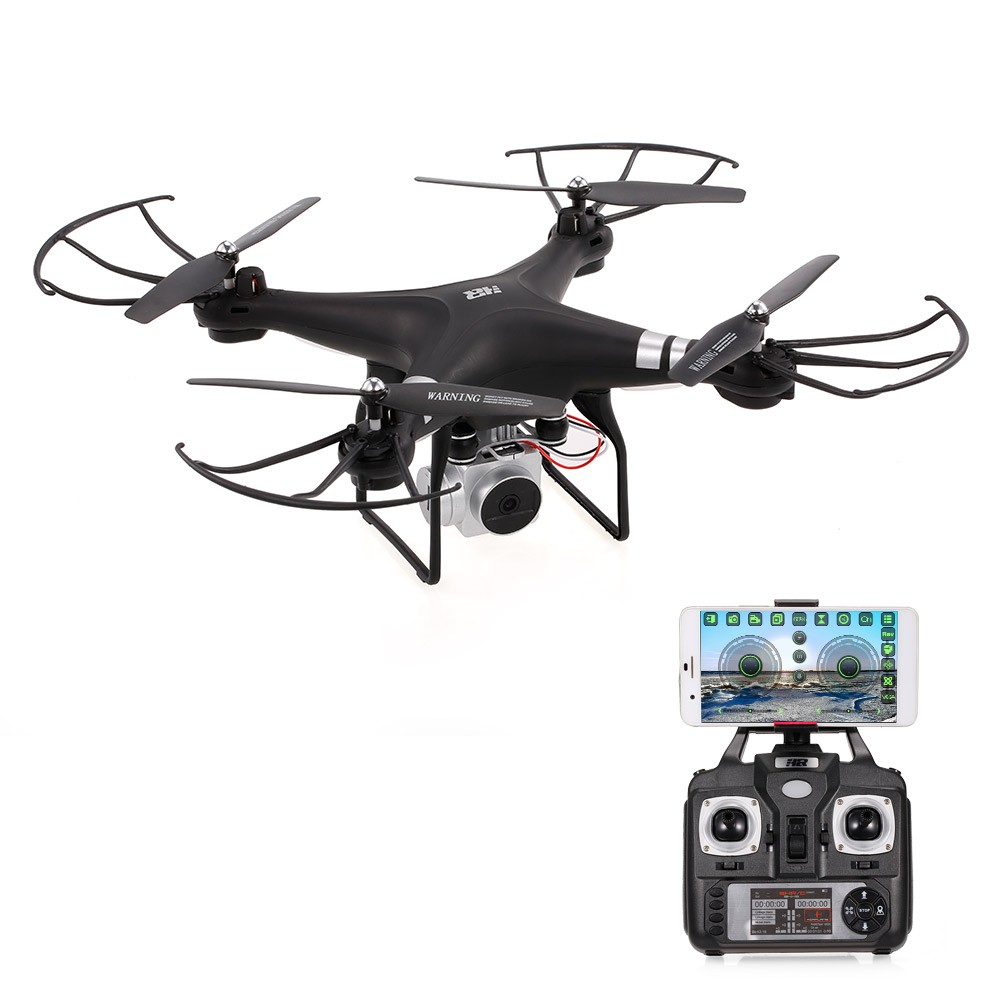 HR SH5HD 2.4G 4CH 0.3MP Camera Drone Wifi FPV Remote Control RC Quadcopter Toy