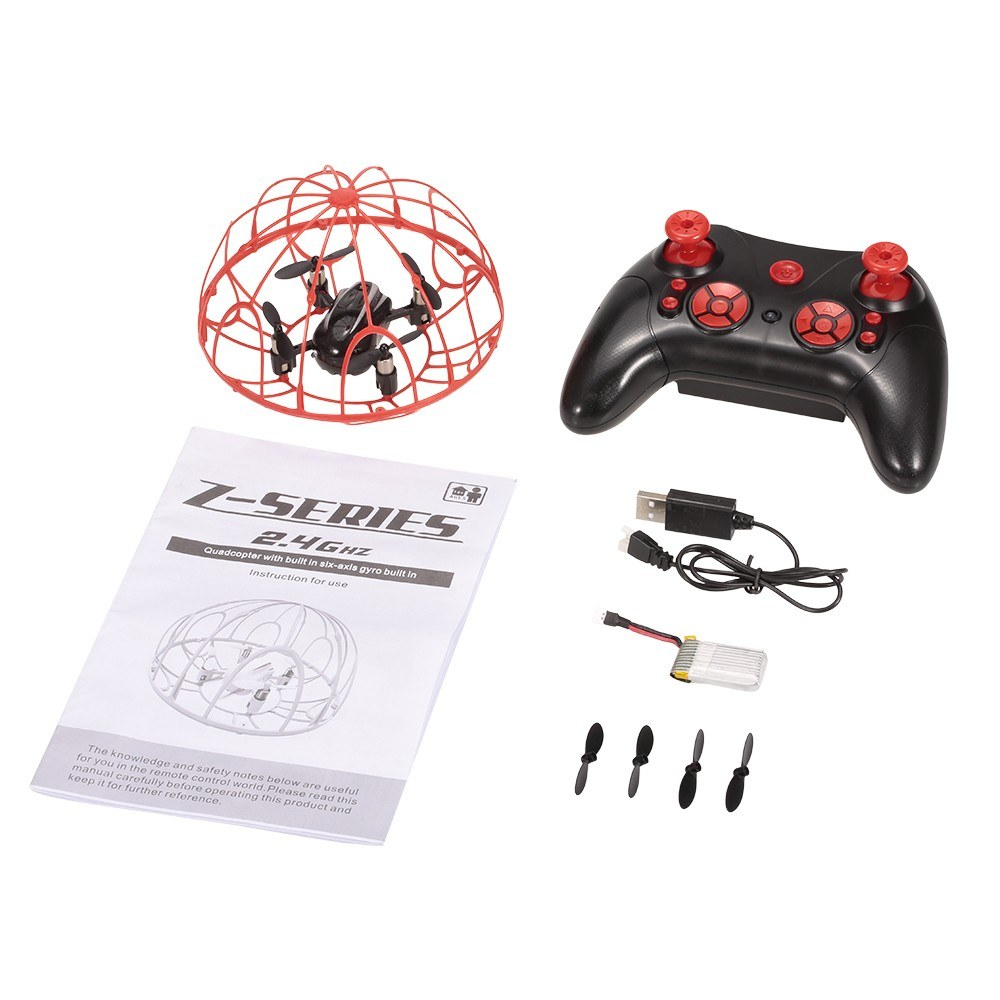 Z2 2 4G 4CH 6-Axis Gyro Altitude Hold Full Protective RC Quadcopter for  Sale - US$28 86 #1 | Tomtop