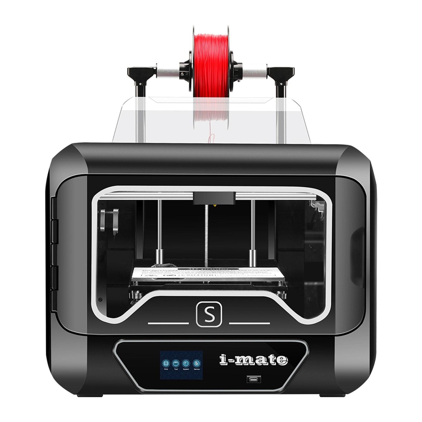 Tomtop - [US Warehouse] 43% OFF QIDI TECH i-mates Full Assembled 3D Printer with 3.5 Inch Touchscreen, $499.99