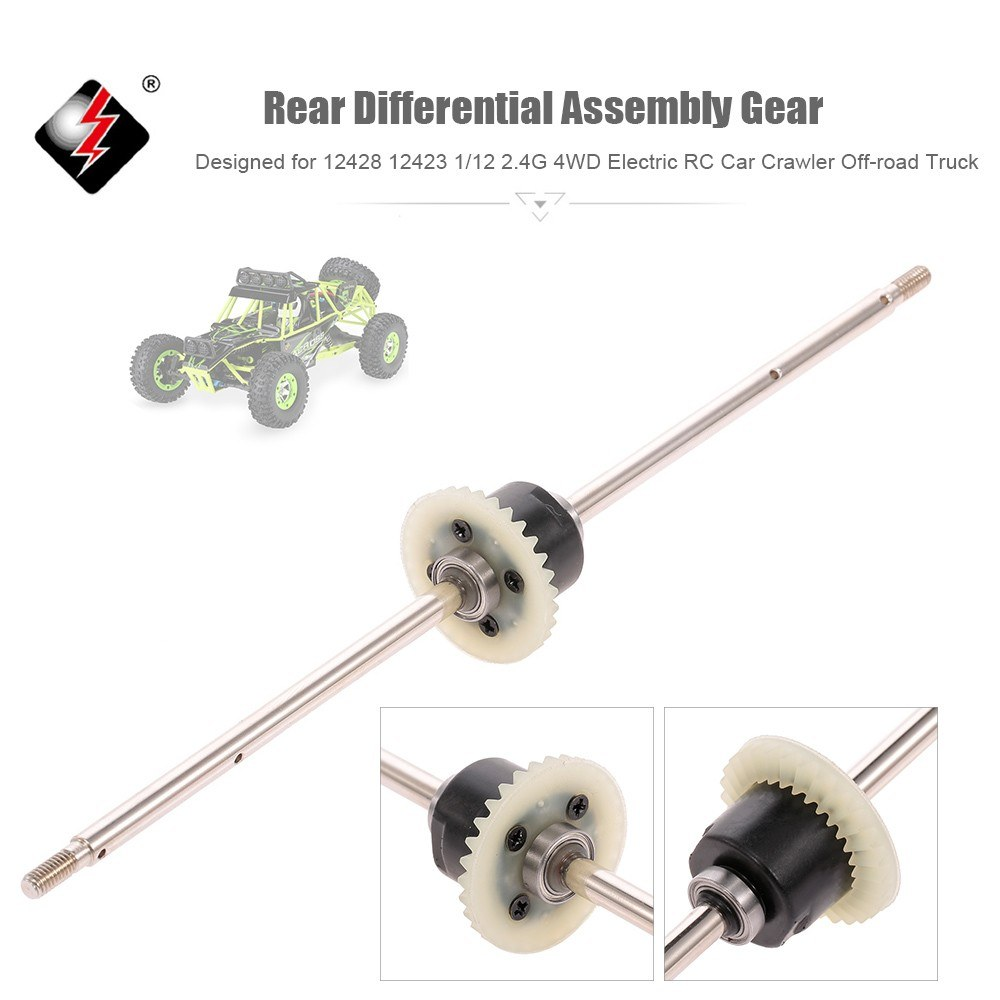 WLtoys Rear Differential Assembly Gear RC Car Accessory