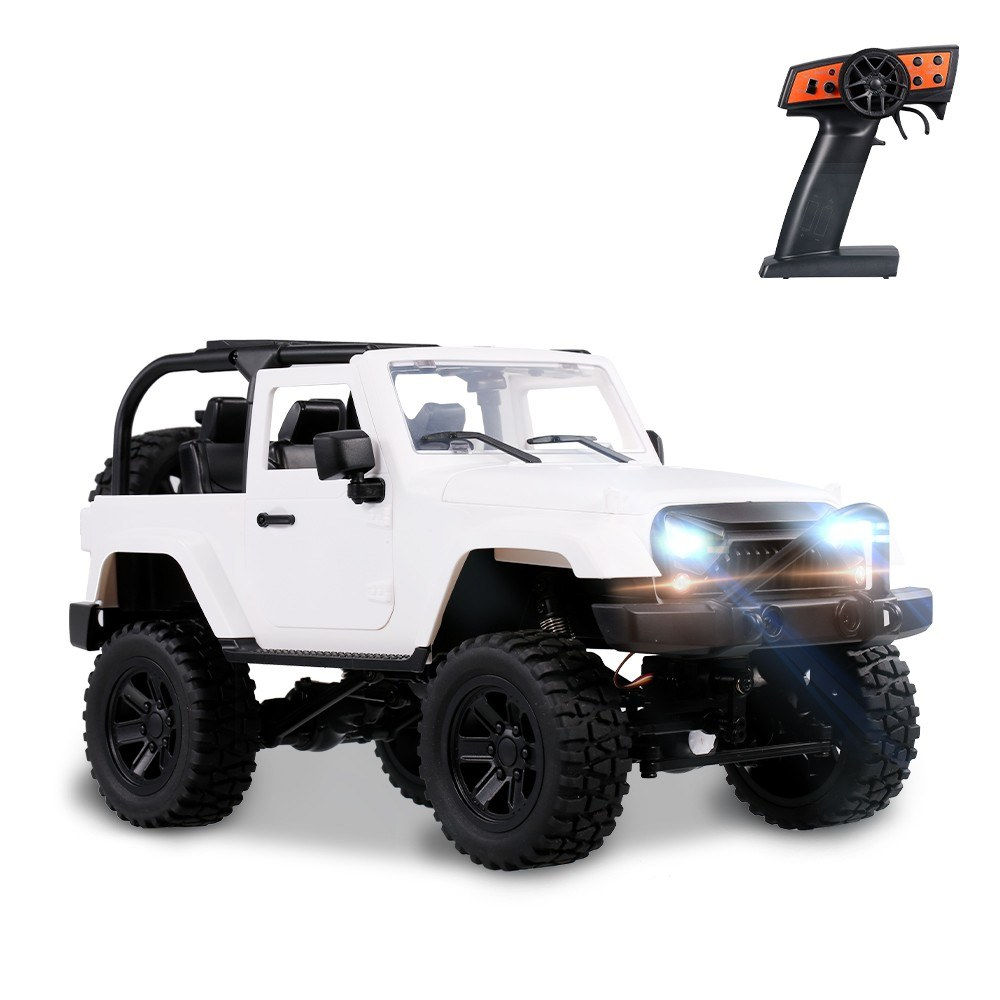 cafago.com - 60% OFF F1 1/14 Scale Remote Control Truck 4WD 2.4GHz Off Road RC Trucks 30km/h High Speed Vehicle Crawler,free shipping+$63.59