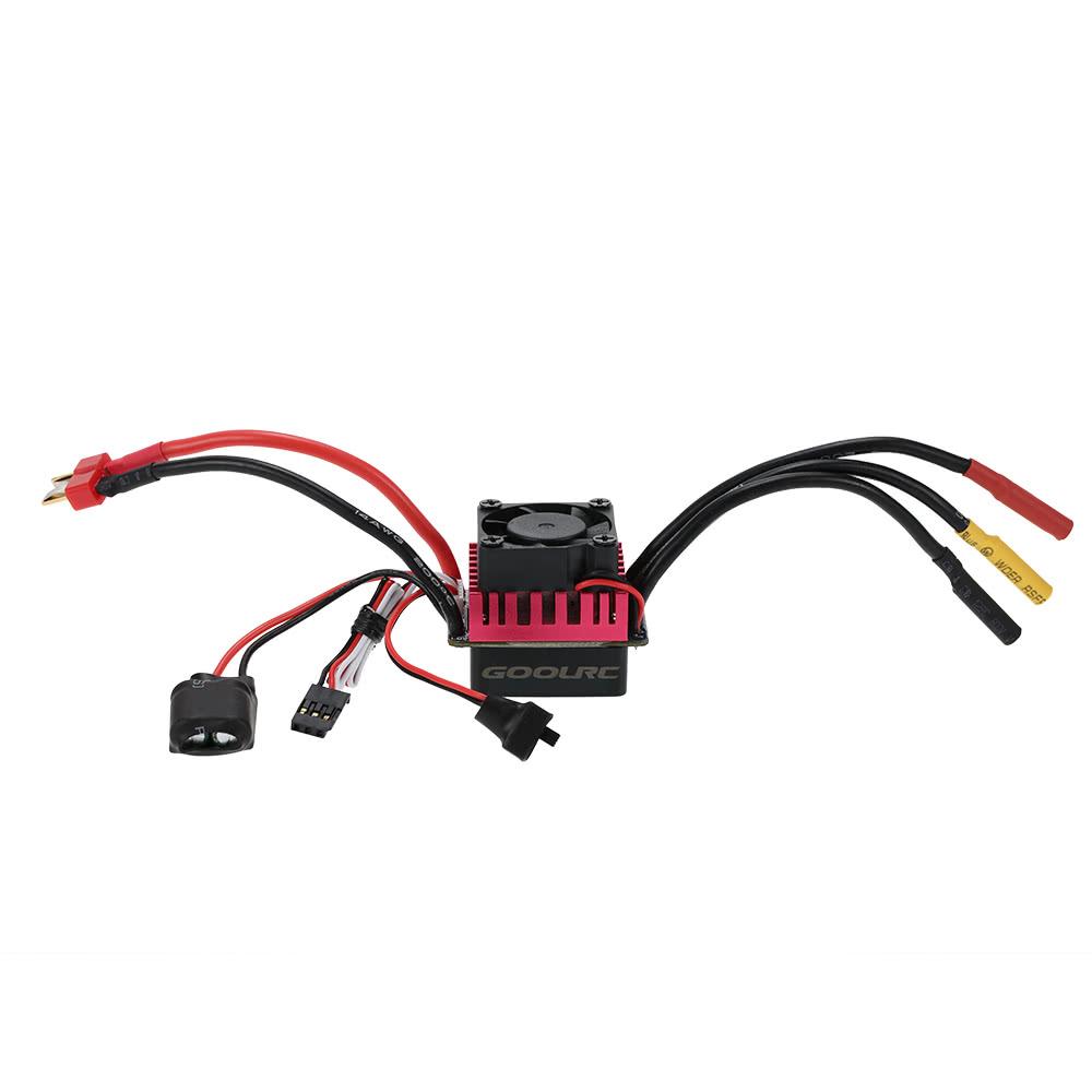 Original Goolrc S3650 3900kv Sensorless Brushless Motor 60a Mamba Max Pro Wiring Diagram Esc And Program Card Combo Set For 1 10 Rc Car Truck