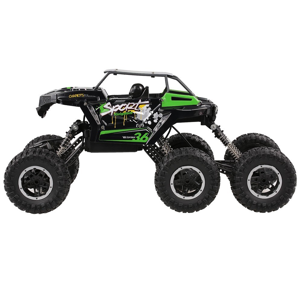 JJR/C Q51D 1:12 RC Car Off-road 2 4GHz 6WD Military Truck with Headlight