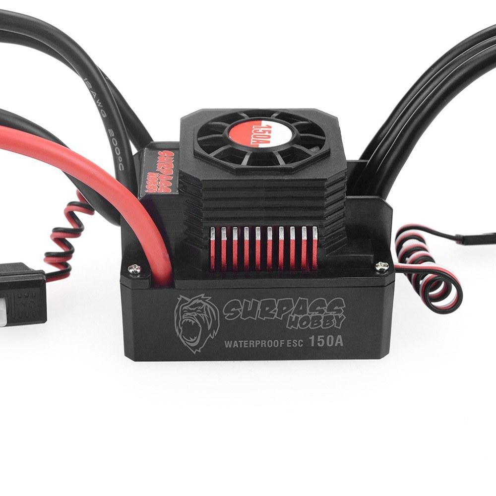 SURPASS HOBBY 150A Brushless ESC Waterproof Electric Speed Controller