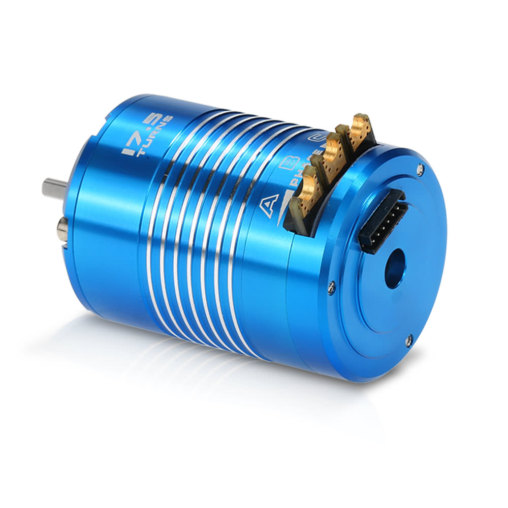 high efficiency 540 17 5t 2200kv sensored brushless motor