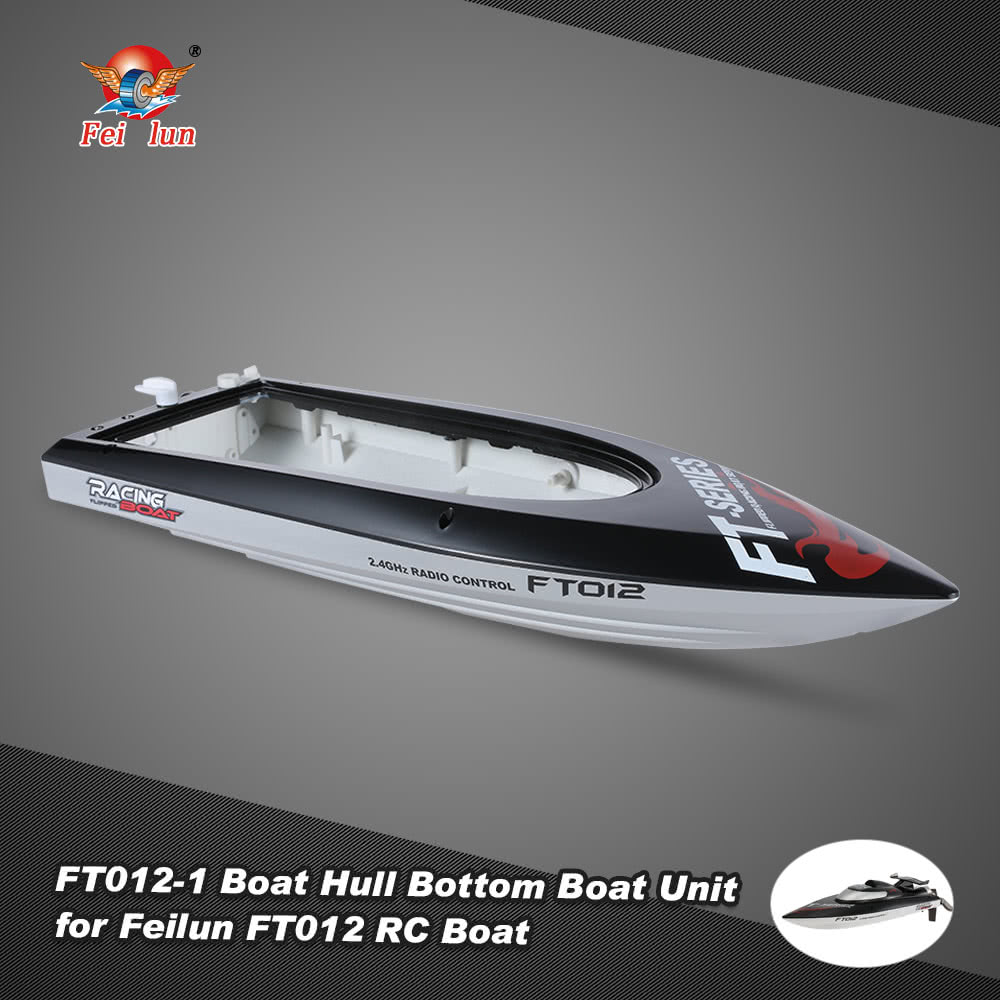 Feilun FT012-1 Boat Hull Bottom Boat Unit Spare Parts for Feilun FT012 RC  Boat