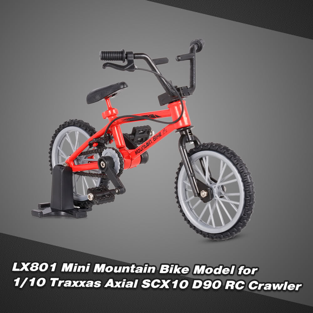 LX801 Decor Accessories Mini Mountain Bike Model Toys for 1/10 Traxxas Axial SCX10 Tamiya RC4WD D90 D110 TF2 RC Crawler for Sale - US$3.01 | Tomtop