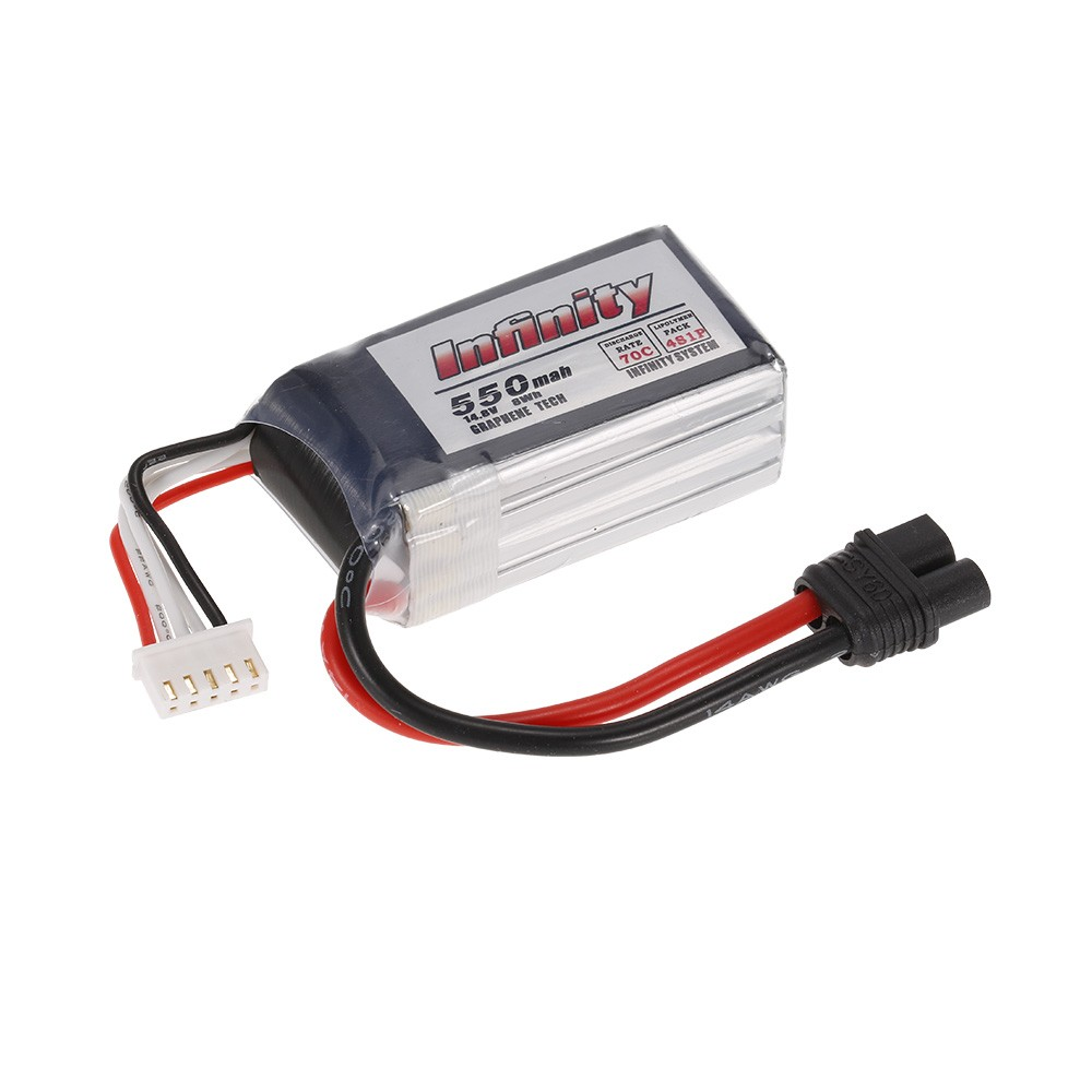 Infinity 4S 14 8V 550mAh 70C Graphene LiPo Battery SY60 for XT60 Plug 120  150 Racing Drone RC Quadcopter Car for Sale - US$16 99 1# | Tomtop