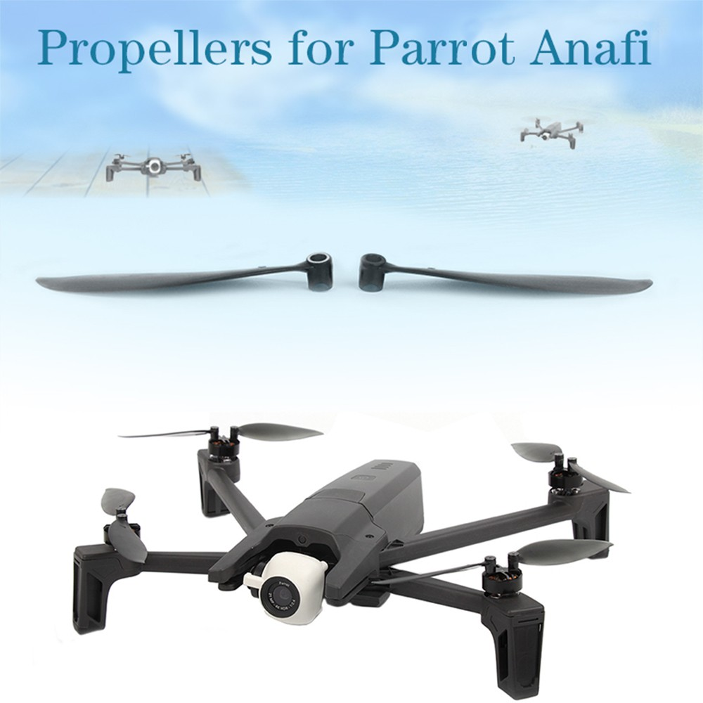 Sunnylife 4Pairs CW/CCW Propeller Blade for Parrot Anafi 4K RC Drone