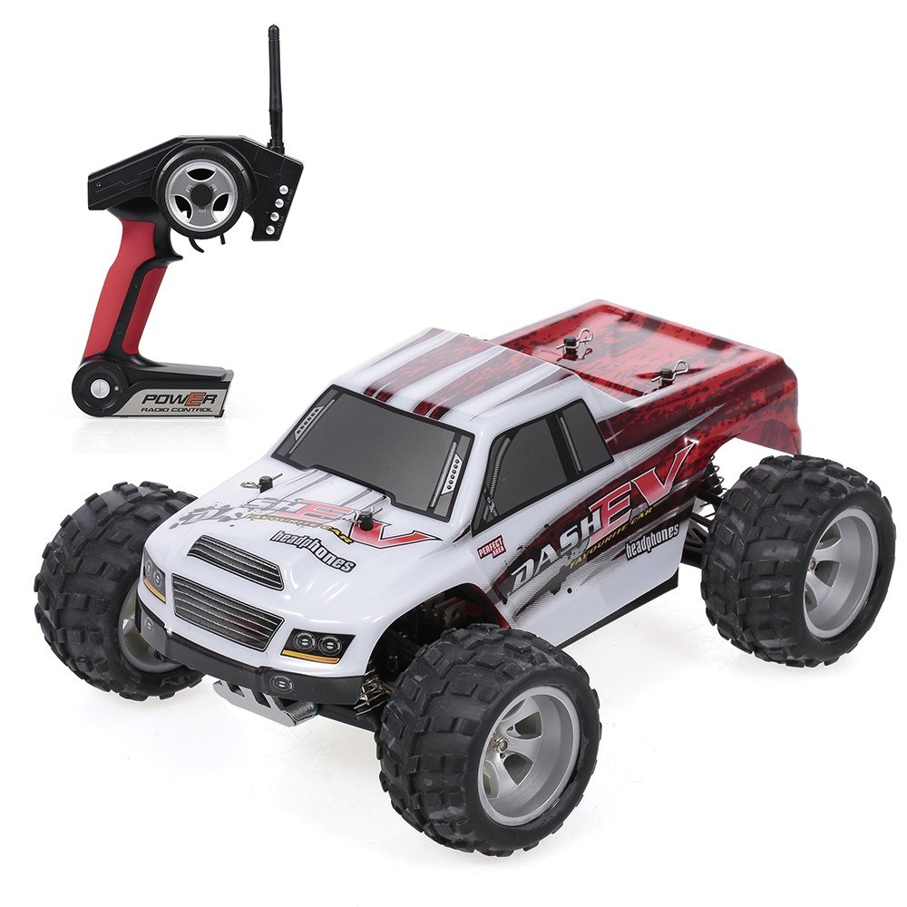 tomtop.com - 41% OFF WLtoys A979-B 2.4G 1/18 RC Car, Limited Offers $86.99